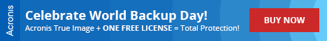 Acronis World Backup Day Promo