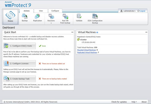 VmProtect 9 interface