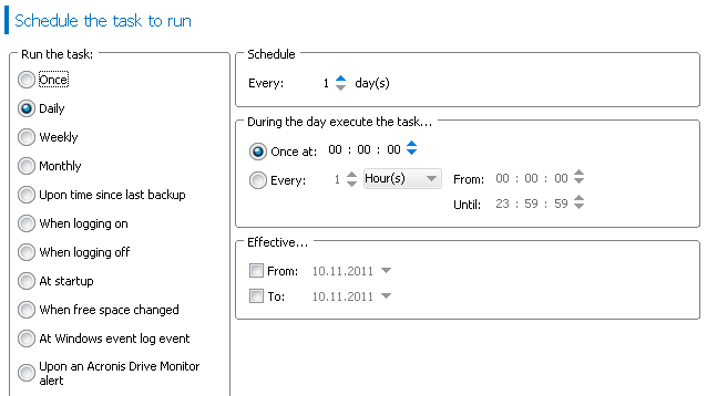 backup task scheduler