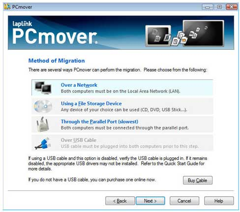laplink pcmover clone disk wizard guide