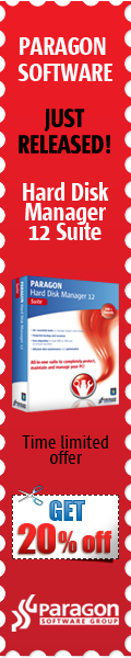 paragon hard disk manager 12 coupon 20% off